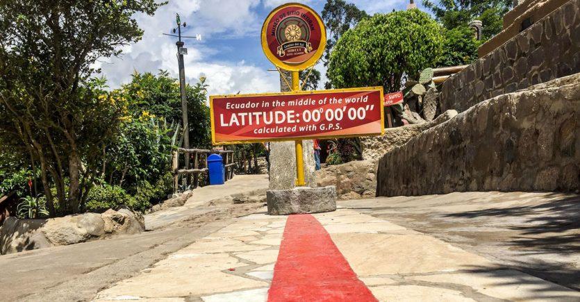 Гуляем по экватору