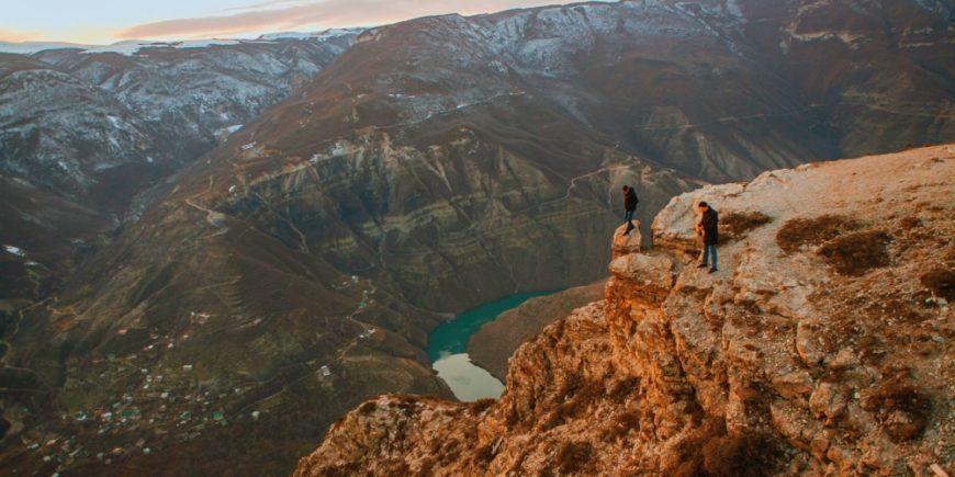 Умопомрачительные виды на Сулакский каньон