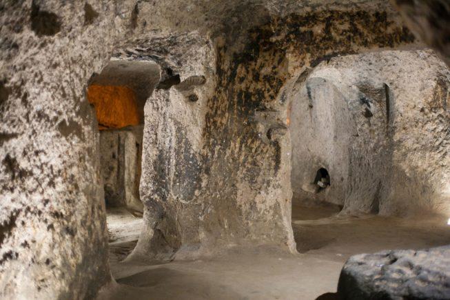 Лабиринты подземных городов