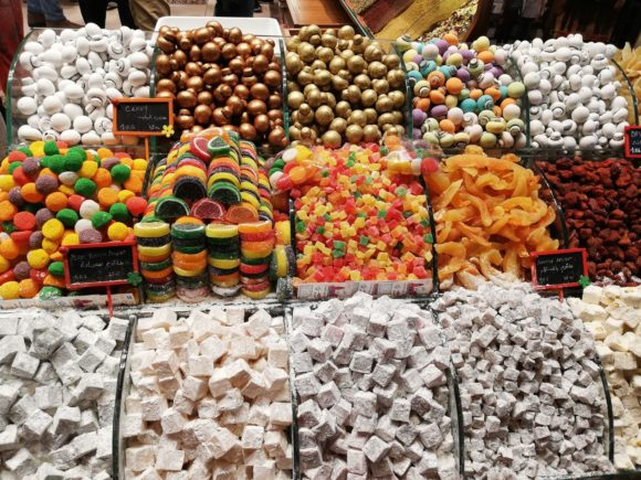 Стамбул: цвета и вкусы Grand Bazaar