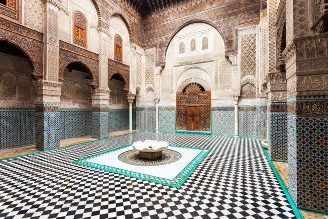 Marocco_Fez_madrasahs_Bu Inania