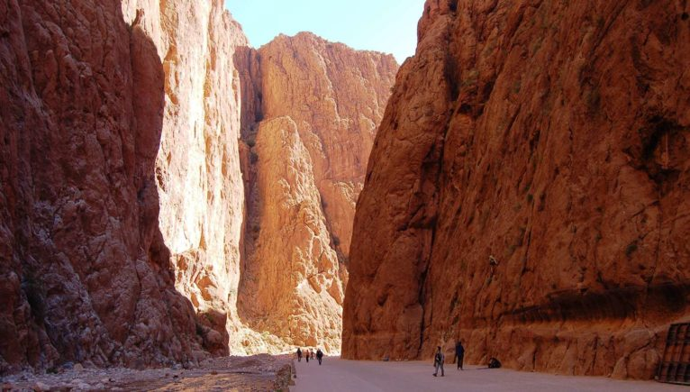 Marocco_Atlas mountains_Todra gorge_tracking