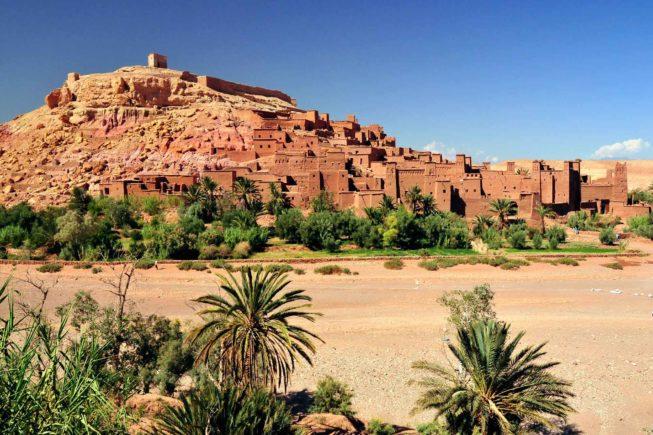 Marocco_Ouarzazate_AIT Ben haddou_kasbah