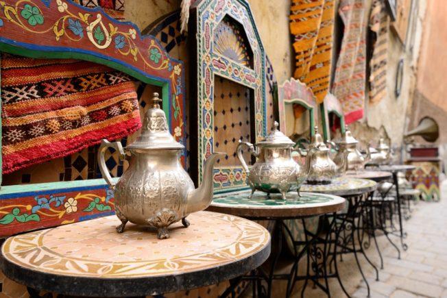 Marocco_Casablanca_Habous Quarter_tea
