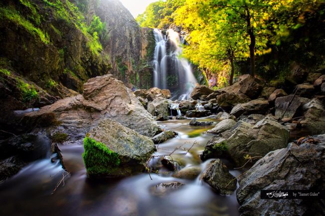 Turkey_Yalova_Termal_erikli waterfall