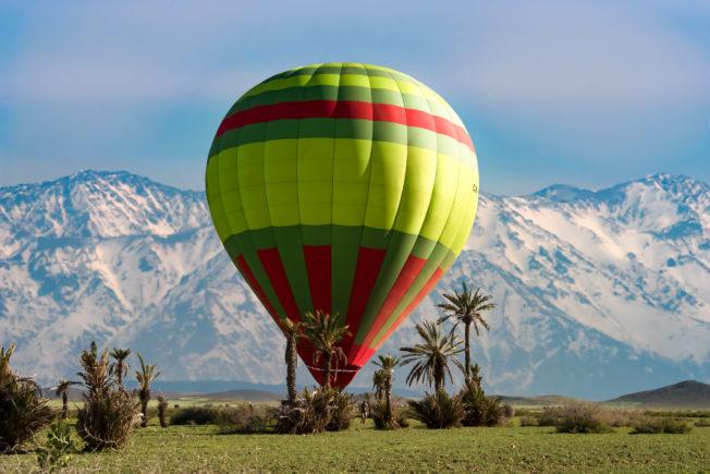 Летим на воздушном шаре