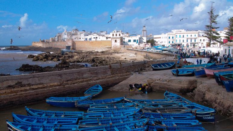 Marocco_Essaouira_Bastion_Fishing Port