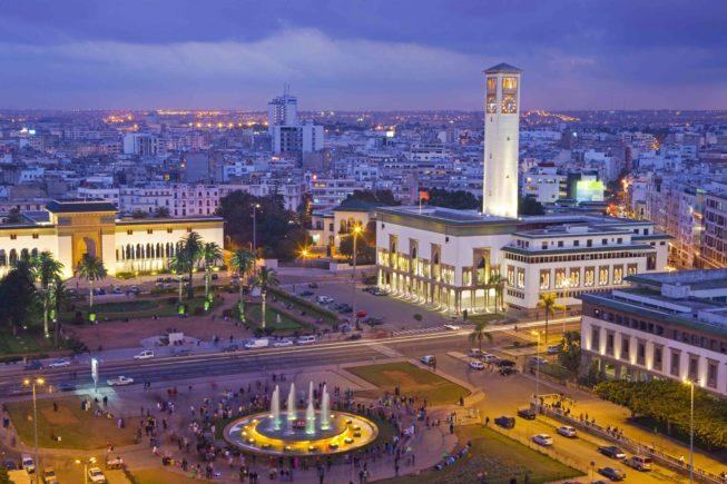 Marocco_Casablanca_Place Mohammed V_city