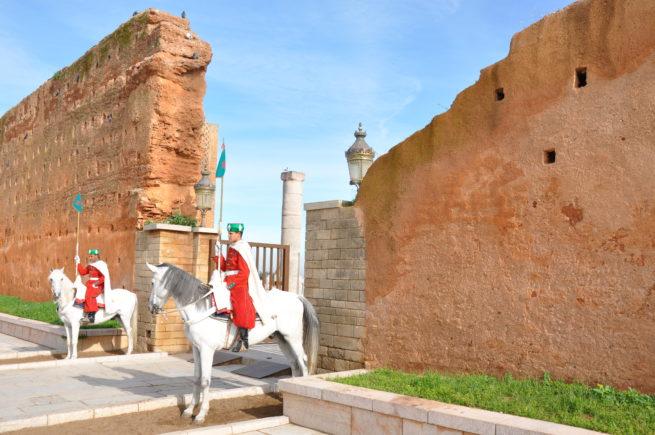Marocco_Rabat_Mausoleum of Muhammad 5_security