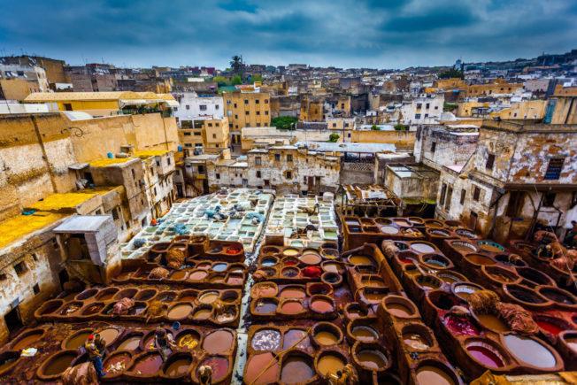 Marokko_Fez_Medina_Chouara Tanner