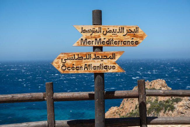 Восхищаемся местом где сливается Средиземное море и Атлантический океан - Гибралтарский пролив
