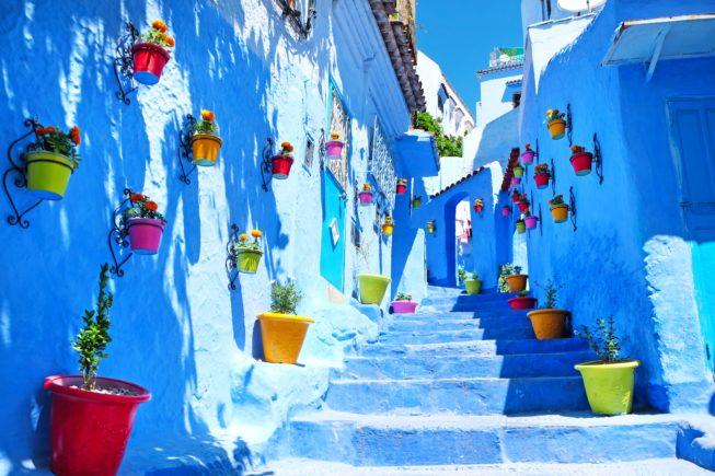 Гуляем по синему городу Шефшауэн