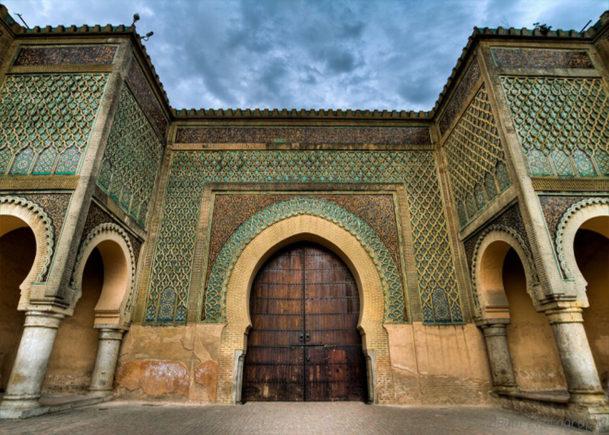 Marocco_Meknes_city_Bab al-Mansour Gate