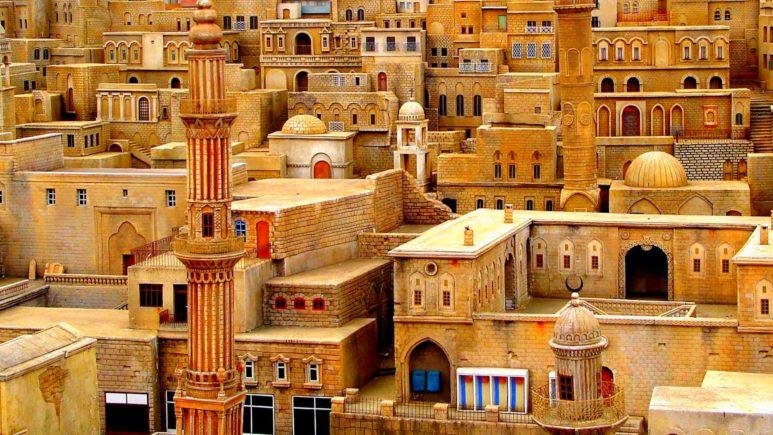 Арабские улочки Мардина и Мидьят