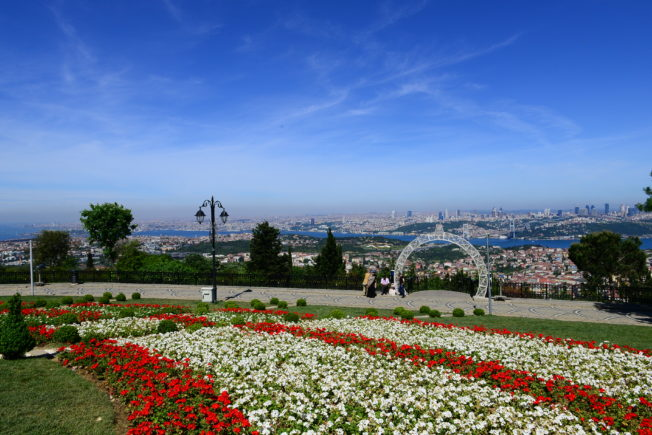 Восхищаемся панорамой Стамбула