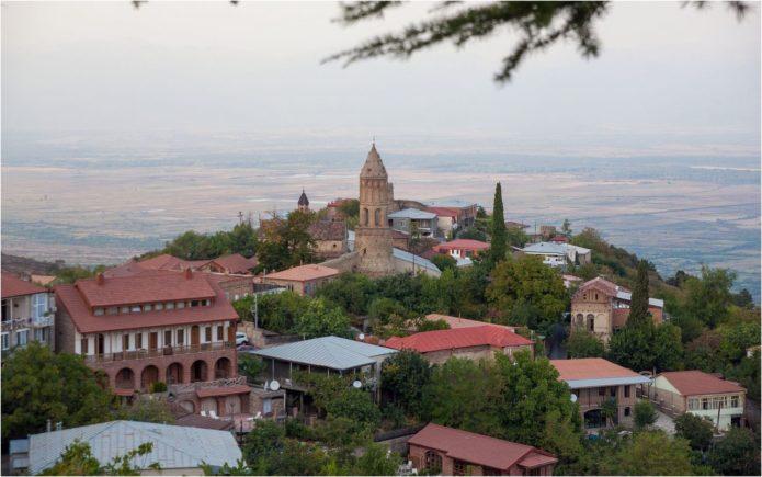 Уютный городок Сигнахи