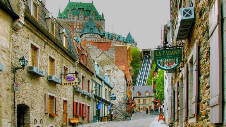 Маленькая Франция в Квебеке