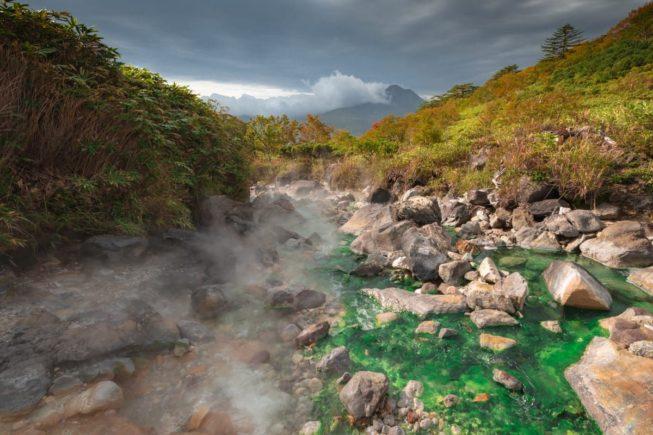 Итуруп: термальные реки Вулкана Баранского