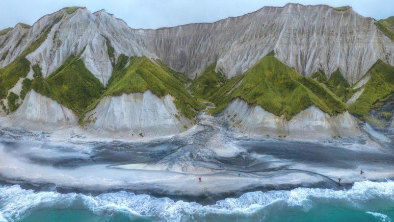 Итуруп: фантастический ландшафт Белых скал