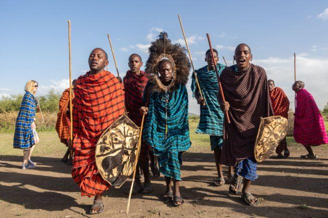 В гостях в племенах Масаев и Чагга